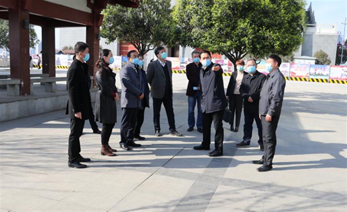 省政府副秘书长高阳一行调研中心城区文化场馆建设