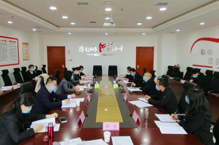 省再担保公司副总经理刘文莉一行来财信担保公司调研指导工作