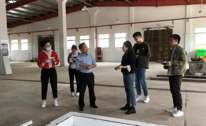 财信融资租赁公司到石泉工业园区推广业务