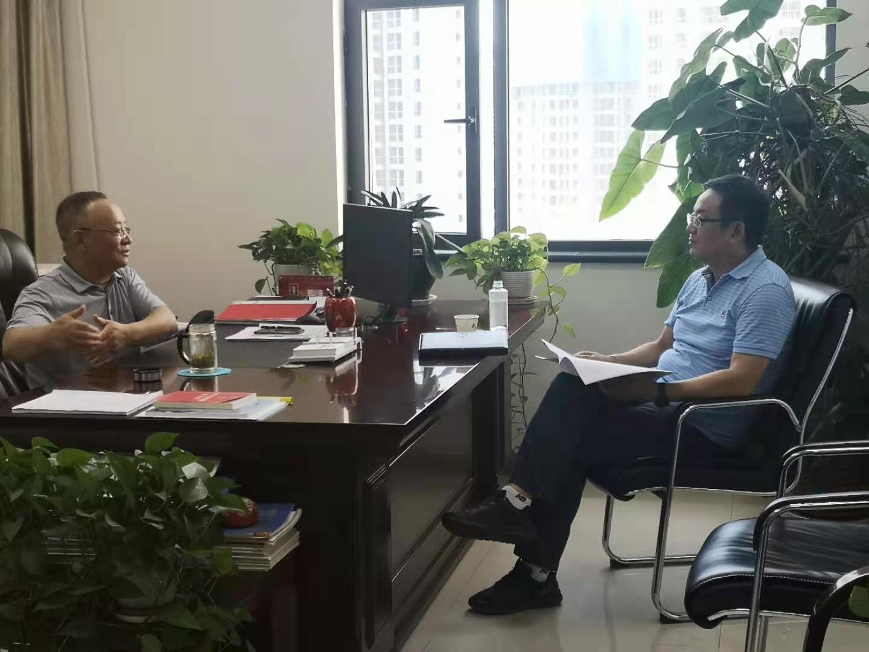 周汉林接受《城市金融报》采访