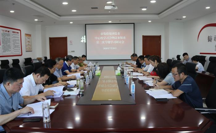 冠亚体育党委召开2020年第7次理论 中心组学习会暨以案促改第二次 专题学习研讨会