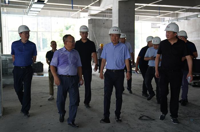 市委常委、副市长殷勇来市发投集团调研 指导工作