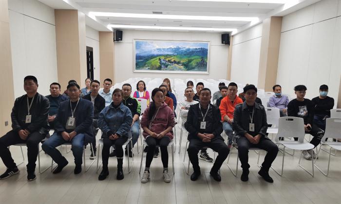 安文投公司组织西城坊商户开展天然气安全用气及消防安全演练培训