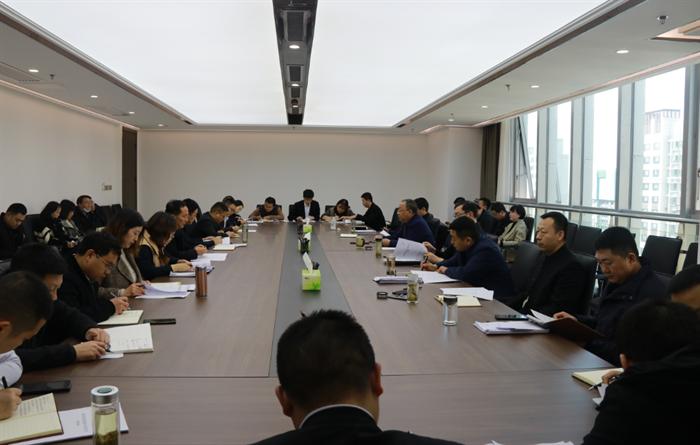 冠亚体育党委召开2021年第3次理论中心组(扩大)学习会