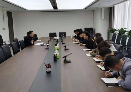 薛世袖在分管部门讲党史学习教育专题党课